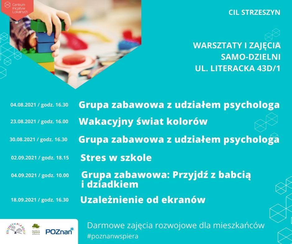 Nowy cykl zajęć CIL Strzeszyn
