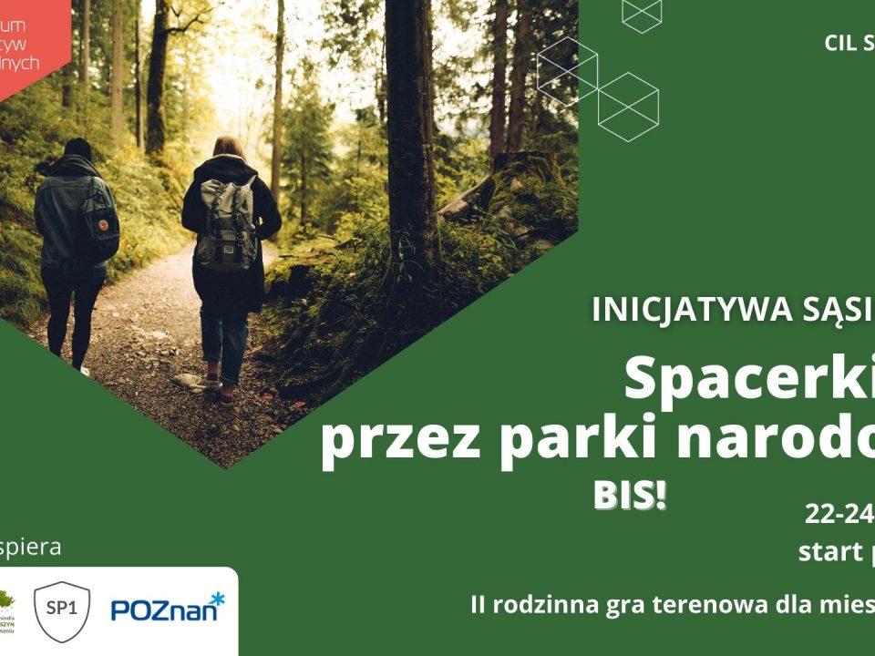 II rodzinna gra terenowa Spacerkiem przez parki narodowe Polski
